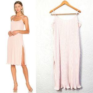 NBD Wynonna Pink Midi Dress